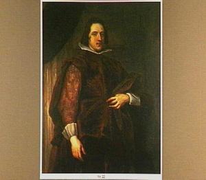 Portret van een onbekende man in Spaans kostuum