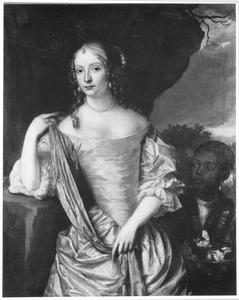 Portret van waarschijnlijk Maria Euphrosine van de Palts Zweibrucken (1625-1687)