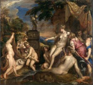 Diana ontdekt de zwangerschap van Callisto