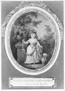 Portret van Susanna Barbera Maria van Asbeck (1791- )