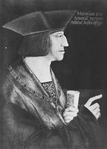 Portret van Maximiliaan I van Habsburg (1459-1519)