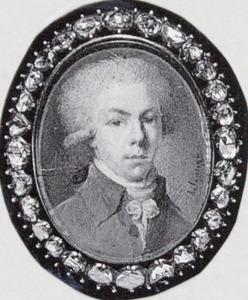 Portret van Ryk le Sueur ( -1822)