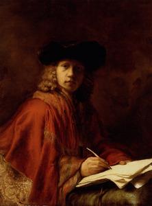 Portret van een kunstenaar (zelfportret?)