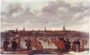 IJsvermaak op de IJssel voor Zutphen