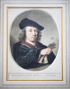 Portret van Ferdinand Bol (1616-1680)