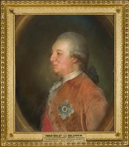 Portret van Iwan Golowkin (?-1791)
