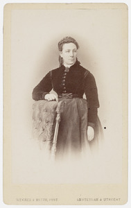 Portret van Sophia Rosetta Wertheim (1828-1905)