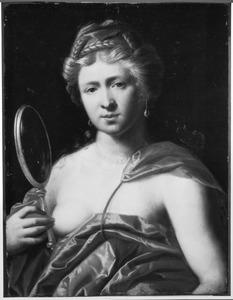 Allegorische vrouwenfiguur als personificatie van de Voorzichtigheid