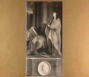 De evangelisten Lucas en Johannes