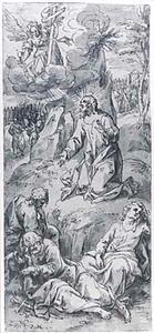 Christus in de hof van olijven (Mattheüs 26:36-45)