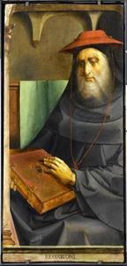 Kardinaal Bessarion (1402-1472) uit de serie 'Beroemde Mannen'