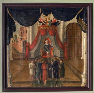 Jozef ontvangt als onderkoning zijn broers (Genesis 42:616)