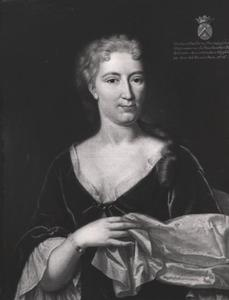 Portret van Charlotte Maria Leydecker (1695-1746)
