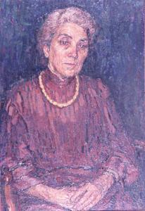 Portret van mevrouw E.N. Langerhorst