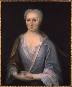 Portret van Barbara de la Court (1682-1758)