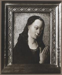 Maria in aanbidding