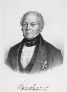 Portret van Frans Alexander van Rappard (1793-1867)
