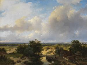 Landschap bij Haarlem