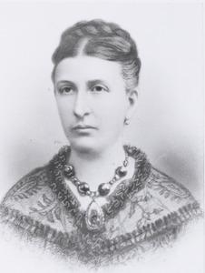 Portret van Johanna Adolphine Deutz van Assendelft (1831-1880)