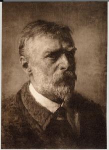 Portret van Willem Bastiaan Tholen (1860-1931)