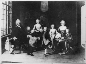 Portret van familie Crommelin