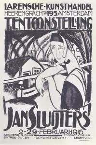 Affiche Larensche Kunsthandel
