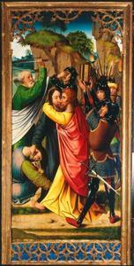 Passieretabel van Pruszcz Gdański (Praust): de gevangenneming van Christus