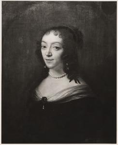 Portret van Constantia Huygens (1602-1667)