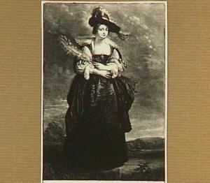 Portret van Hélène Fourment (1614-1673)