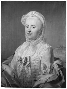 Portret van waarschijnlijk Agatha Theodora Geelvinck (1739-1805)