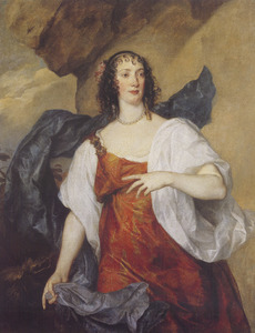 Portret van Olivia Boteler (?-1663), vrouw van Endymion Porter