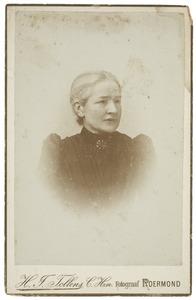 Portret van Henrietta Pauline Köhnen (-1909)