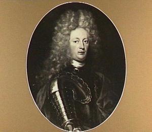 Portret van Allard van Burum (1678-1729), grietman van Doniawerstal en Ferwerderadeel, echtgenoot van 1. Catharina Johanna van Eysinga en 2. Alexandrina Eleonora barones van Plettenberg