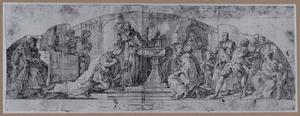 De doop van keizer Constantijn de Grote