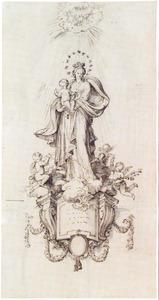 Ontwerp voor een beeld van Maria met Kind