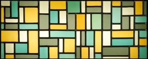 Glas-in-lood-compositie VIII