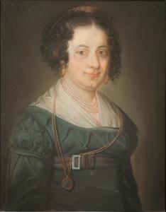 Portret van Dorothea Verblackt (1795-1876)