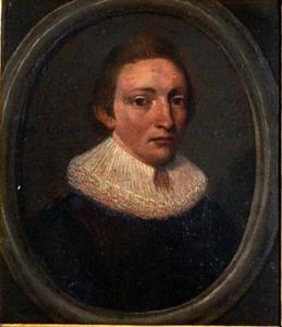 Portret van Assuerus Strockel (1600-1670)
