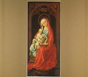 Maria met kind in een nis