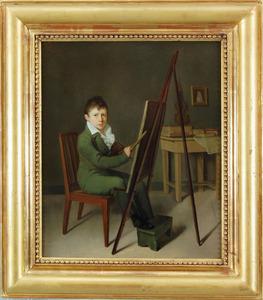 Portret van Ary Scheffer als 12-jarige jongen