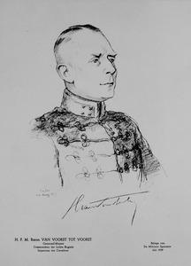 Portret van Herman Franciscus Maria van Voorst tot Voorst (1886-1971)