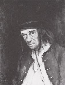 Portret van Hendrik Teune (1874-1943)
