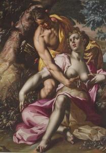 De dood van Procris door Cephalus pijl