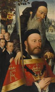 De H. Antonius Abt met Antoine Molckmans en zijn zoons