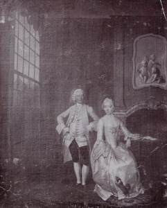 Portret van Theodorus Schuurman (?-1816) en Anna Elisabeth Boelen (1743-1824)