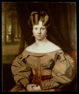 Portret van Eva Justina Wierdsma (1808-1834)