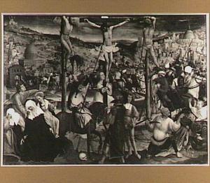 Christus dood tijdens de kruisiging: Longinus doorboort Christus' zijde
