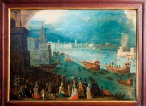 Het Canal Grande, het Marcus-plein and het Dogen-paleis in Venetië