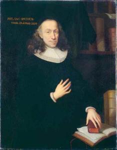 Portret van de predikant Philipp Jakob Spener (1635-1705)