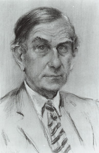 Portret van Daniel van der Most van Spijk (1920- )